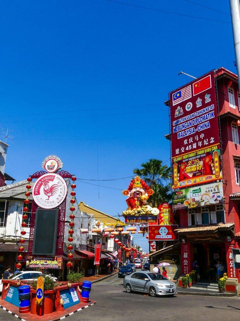 Malacca Chinatown