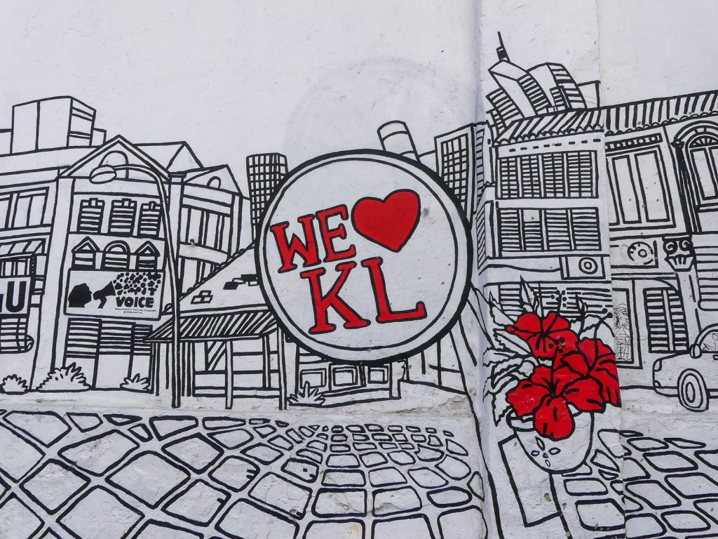 Kuala Lumpur : street art