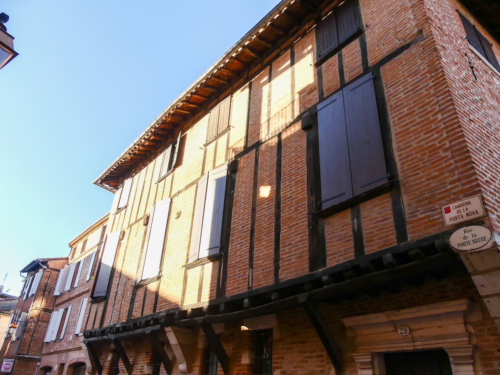 Albi maison à colombages