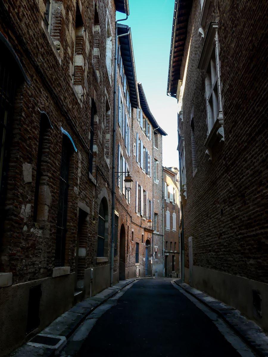 Jolie rue d'Albi