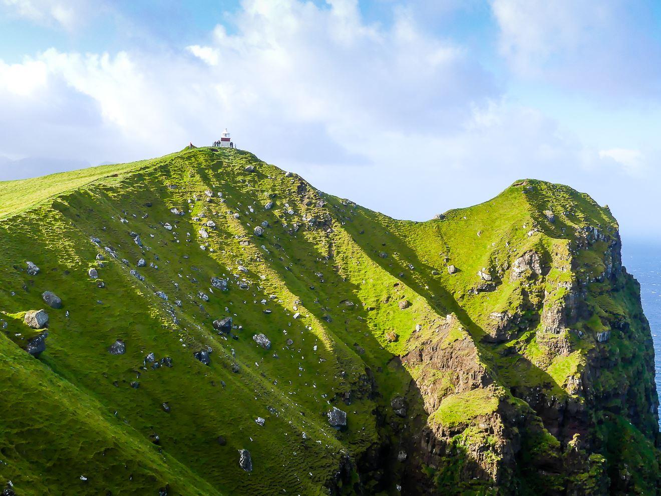 Le phare de Kallur - coup de coeur des île Feroe