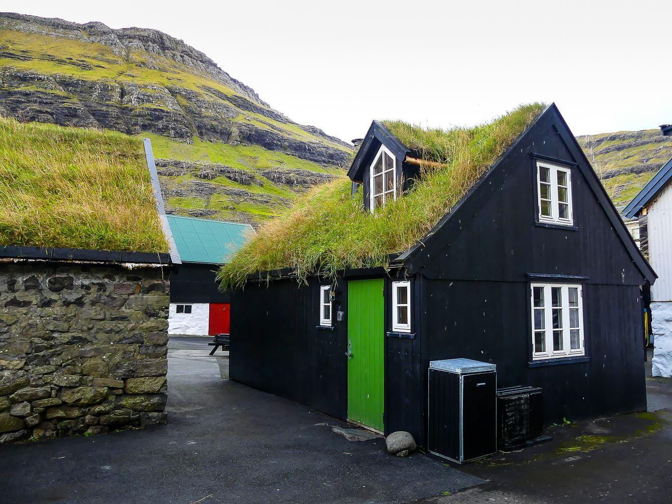 Les jolies maisons de Tjornuvik