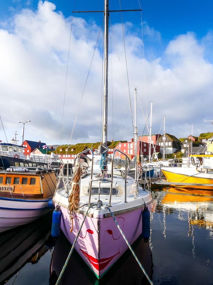 Port de Torshavn - capitale des Iles Feroe