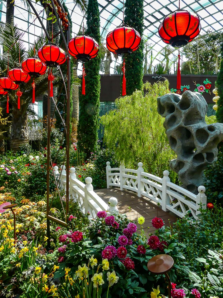 Flower Dome - Singapour