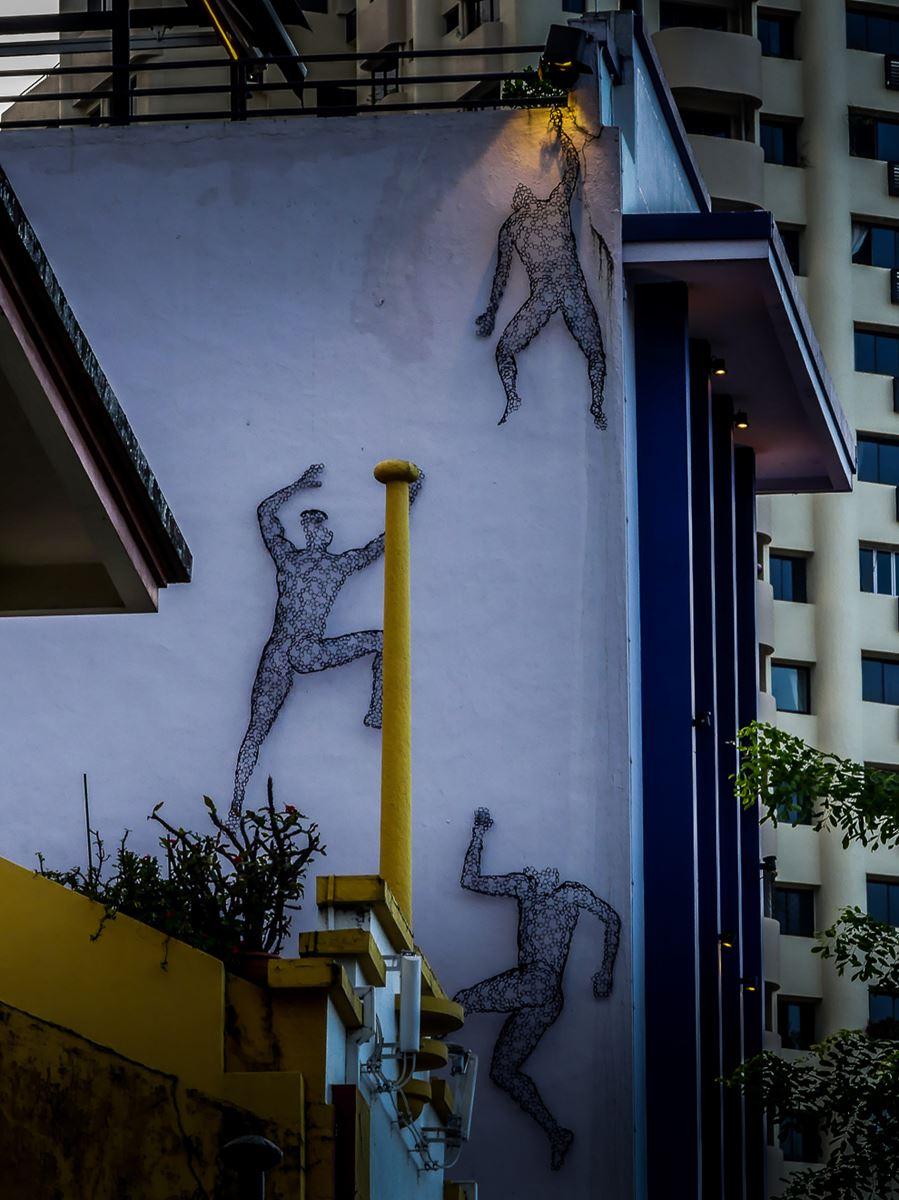 Colonial District street art