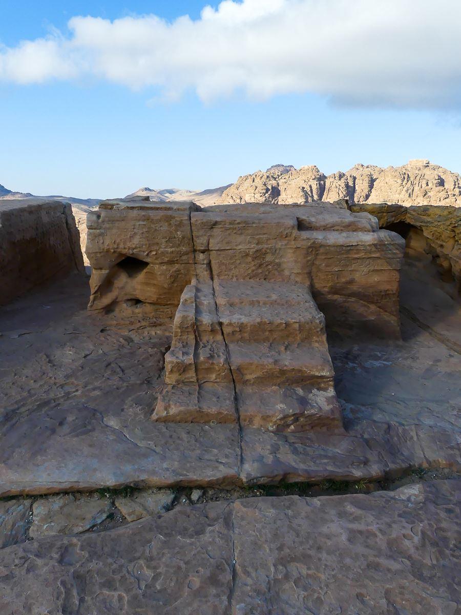 Petra - Autel du Haut Lieu des Sacrifices