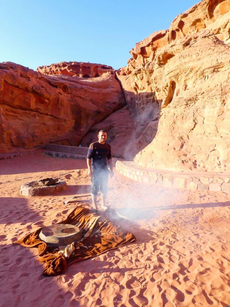 Préparatifs au Desert Moon Camp