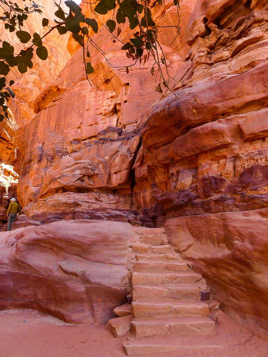 Wadi Rum - Arrêt 3 - source et inscriptions (1)