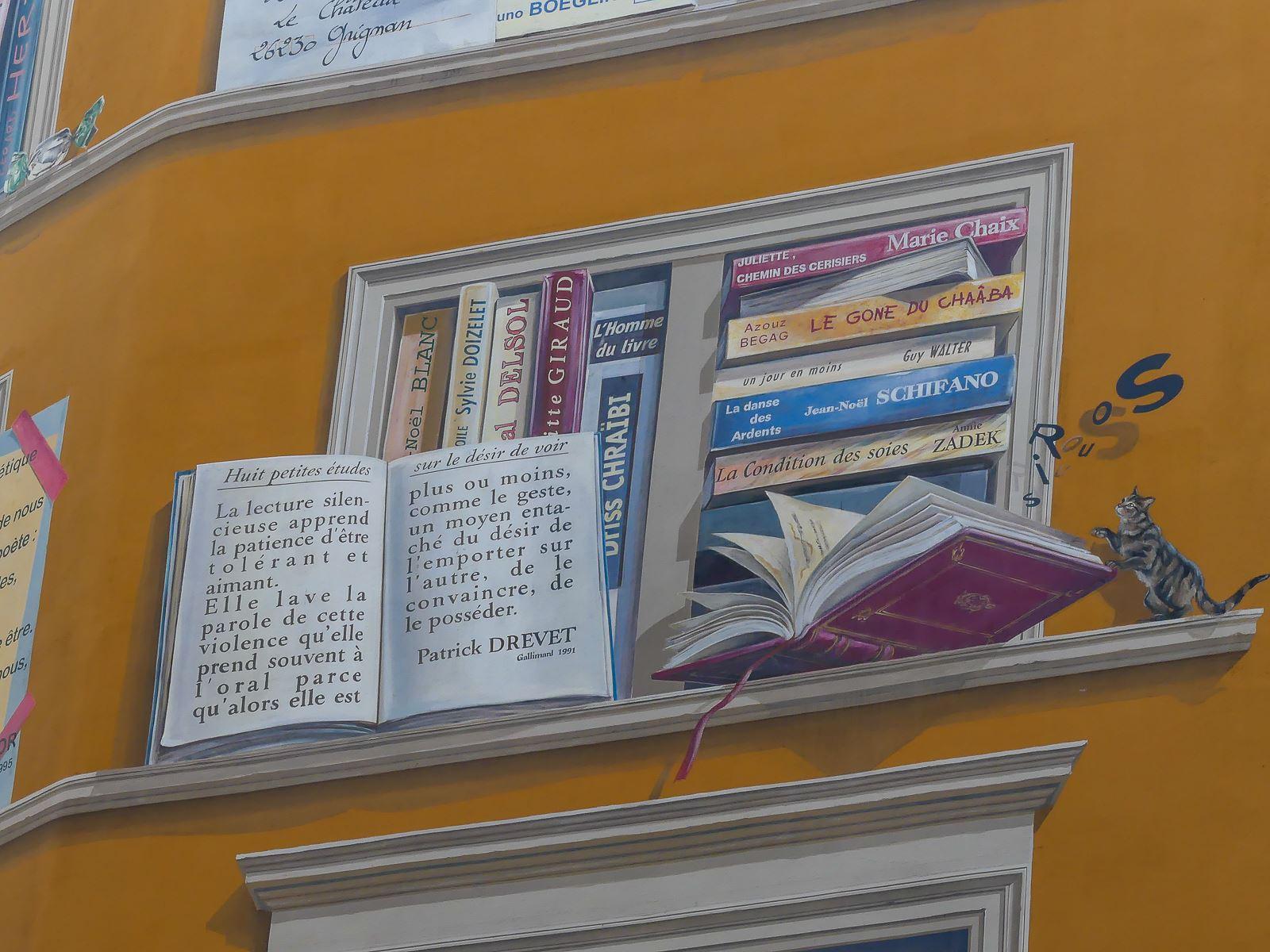 Lyon-fresque Bibliothèque