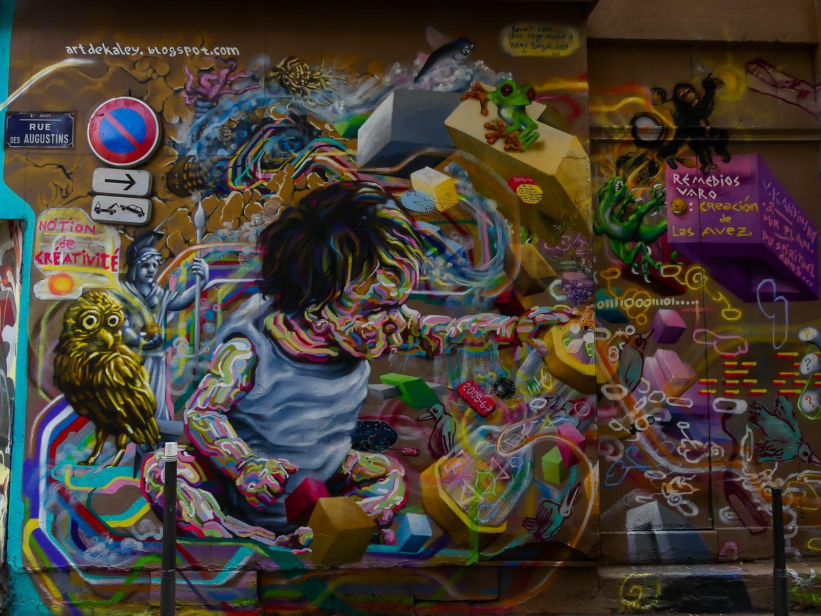 Street art Lyon Croix Rousse