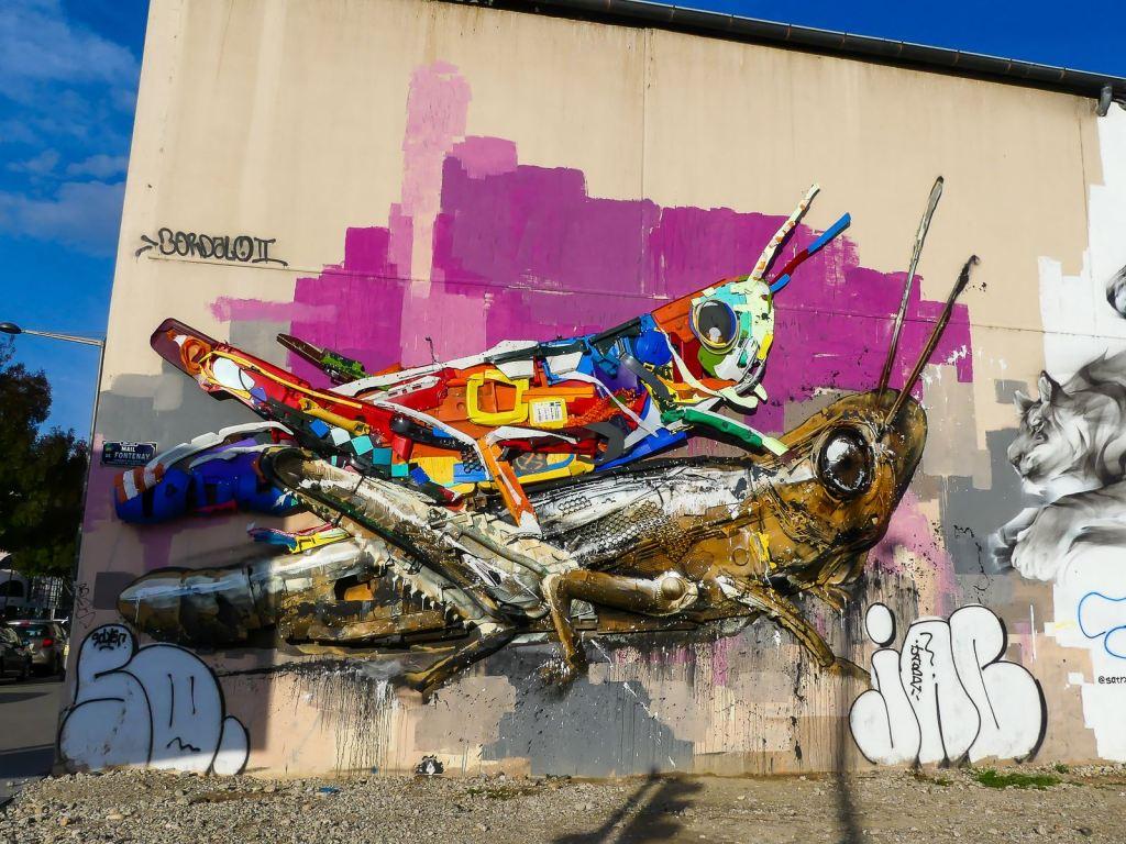 Street Art Lyon Bordalo II