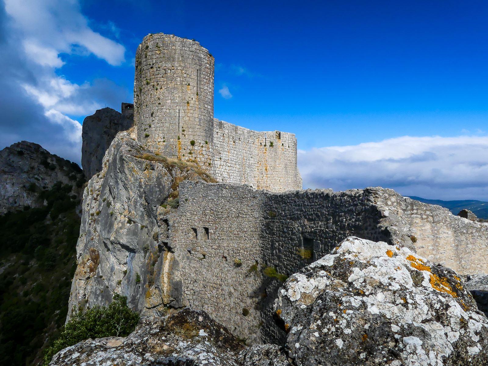 Aude- château de Peyrepertuse