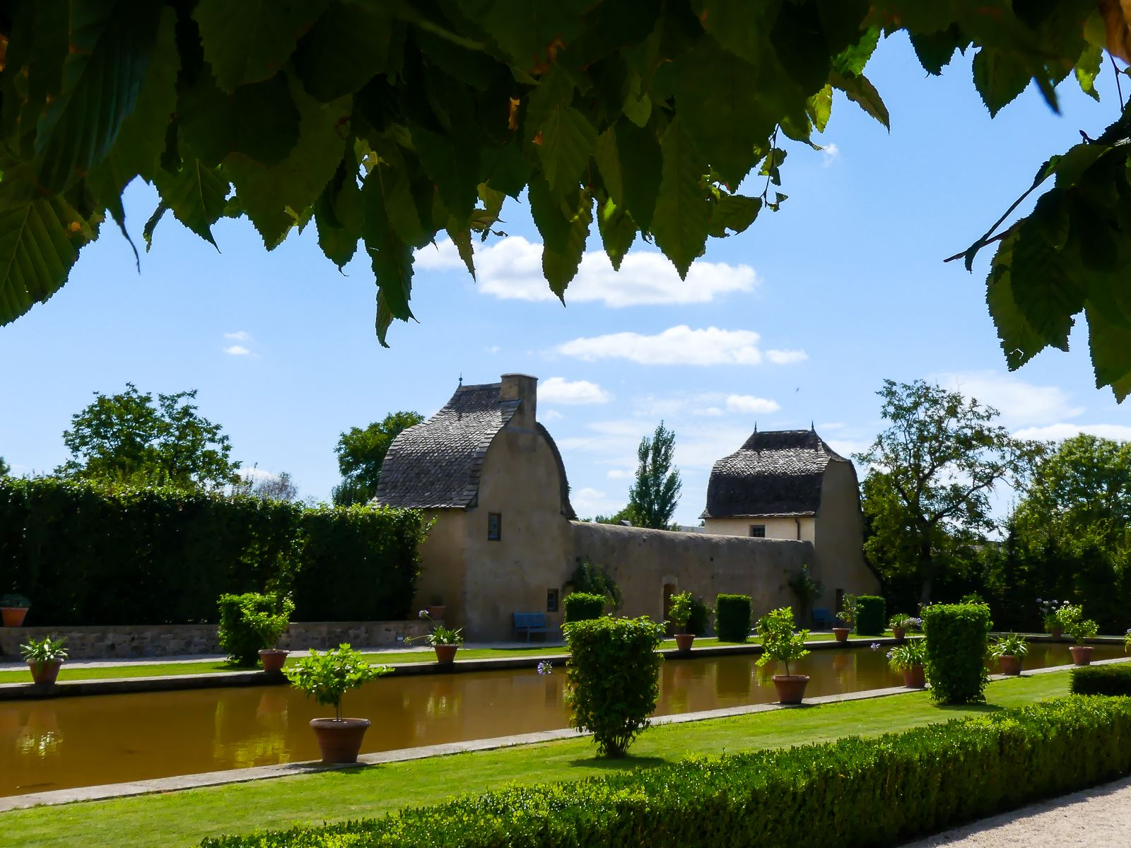 Jardins du château de Bournazel - Aveyron