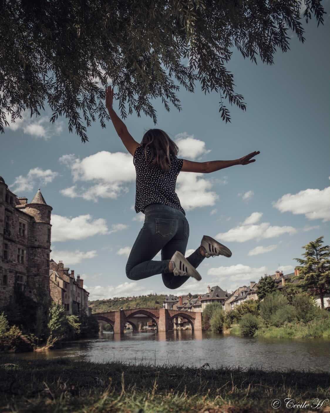 Jump à Espalion