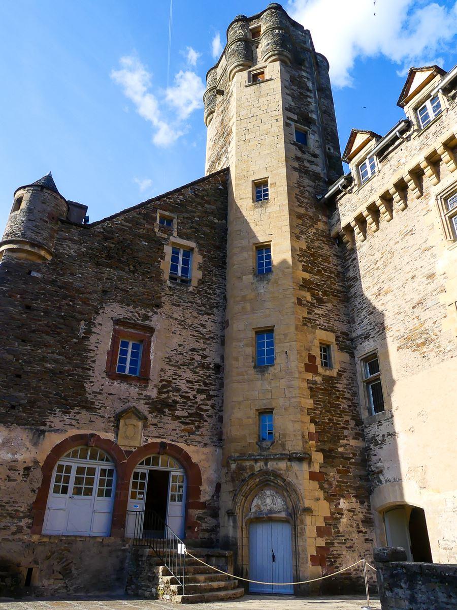 Aveyron - Château d'Estaing