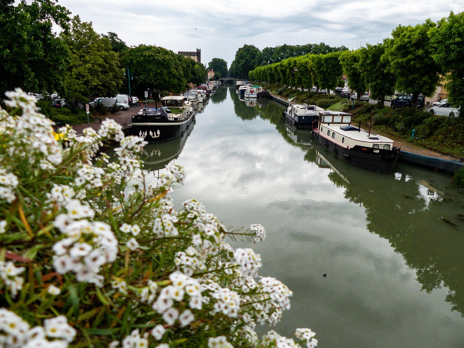 Moissac - Canal entre deux mers