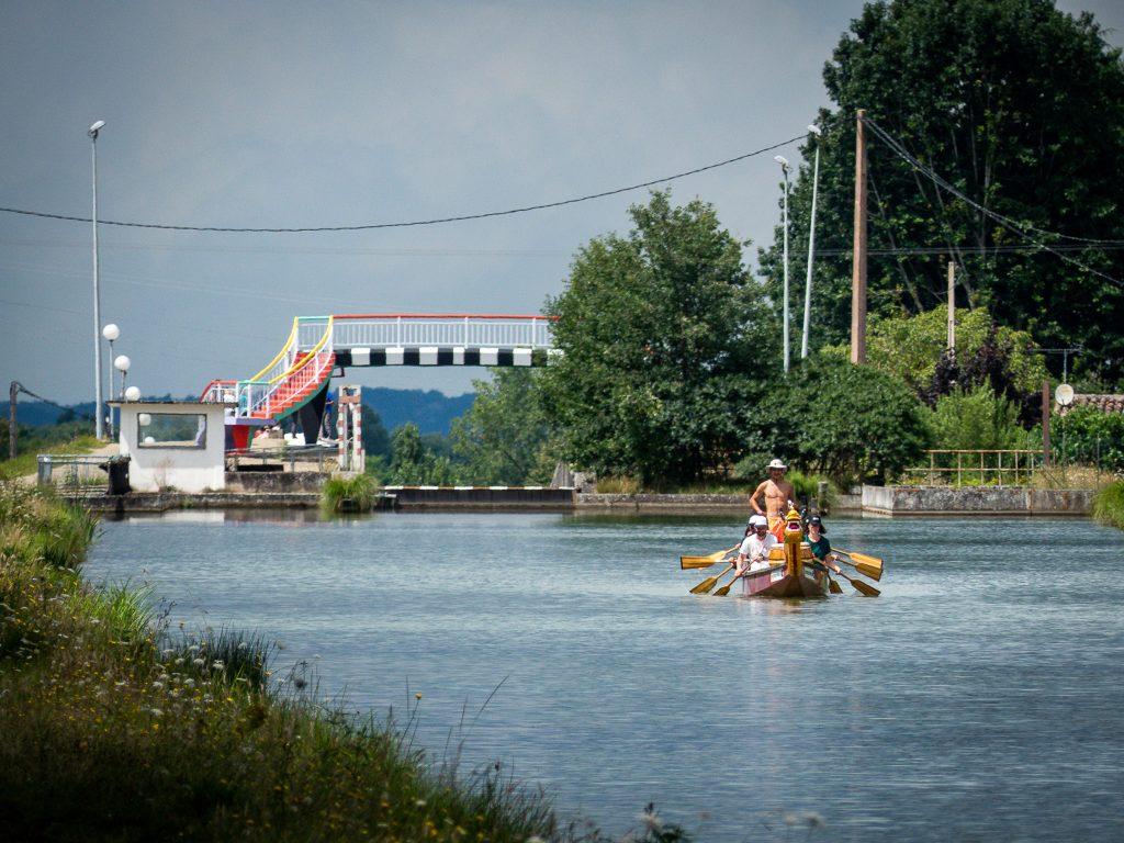 Dragon boat - pente d'eau de Montech