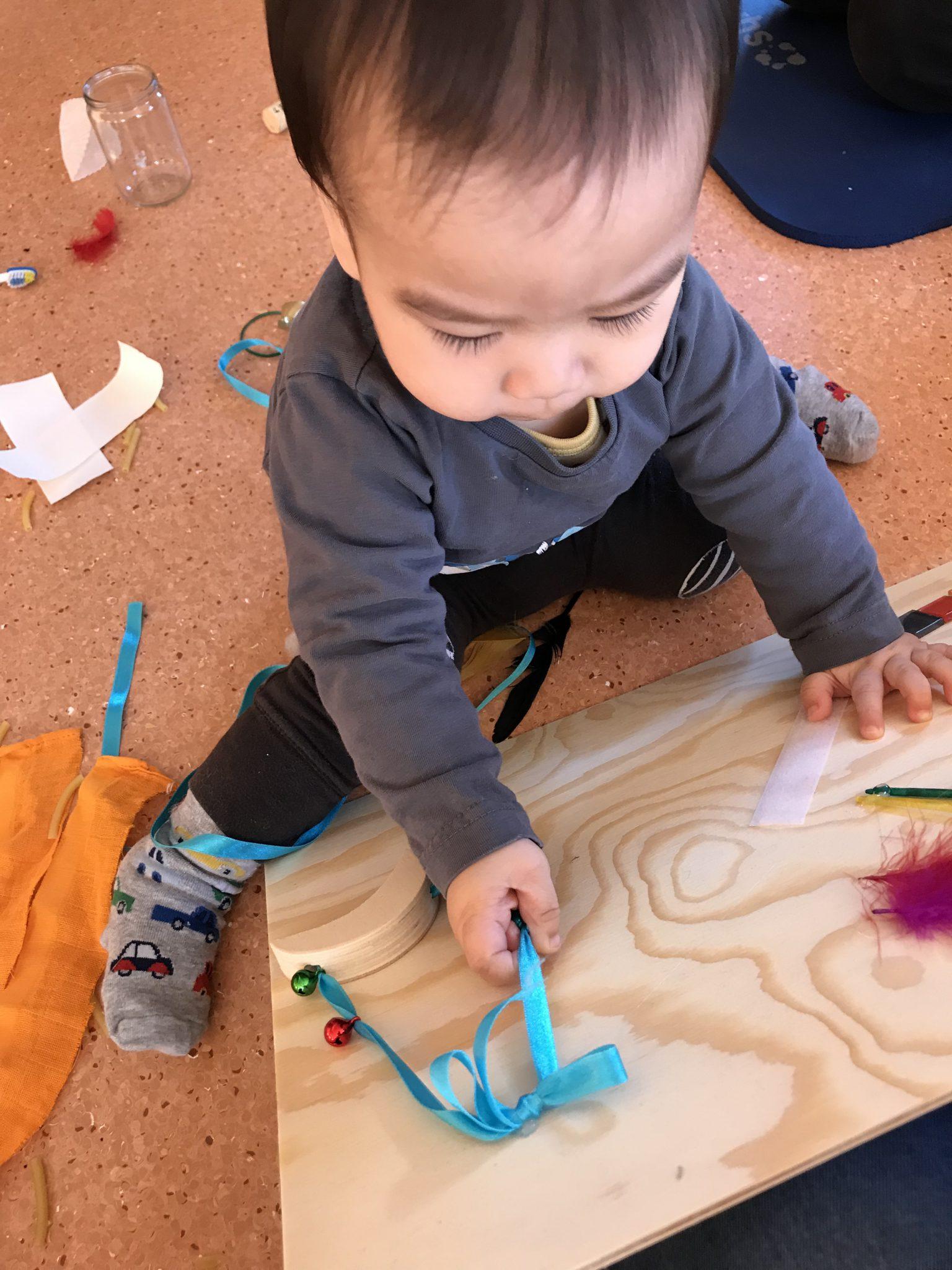 3. Sensory class – busy/ sensory board
