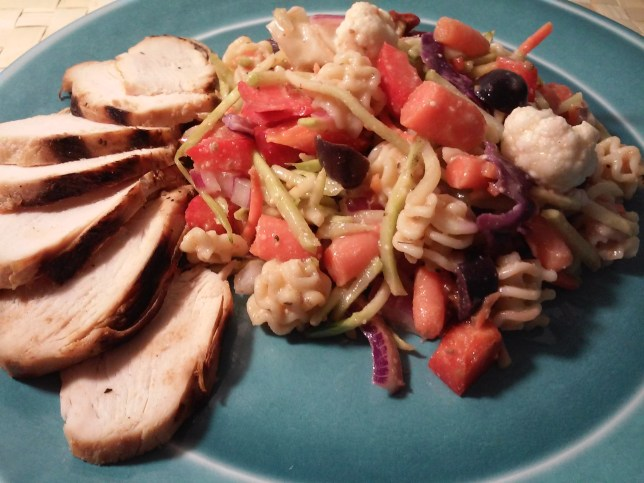Use What You Have Pasta Salad