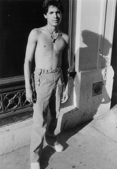 Larry Clark, Untitled (Hustler and Long Shadow)