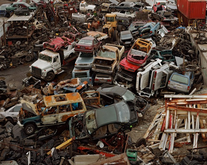 Joshua Lutz, Untitled (Car Heap)