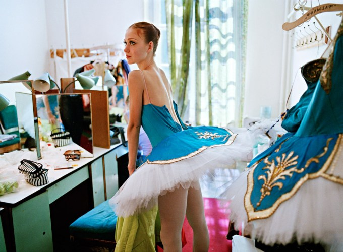 Rachel Papo, Backstage at the Mariinsky Theater, Ballet, St Petersburg, Russia