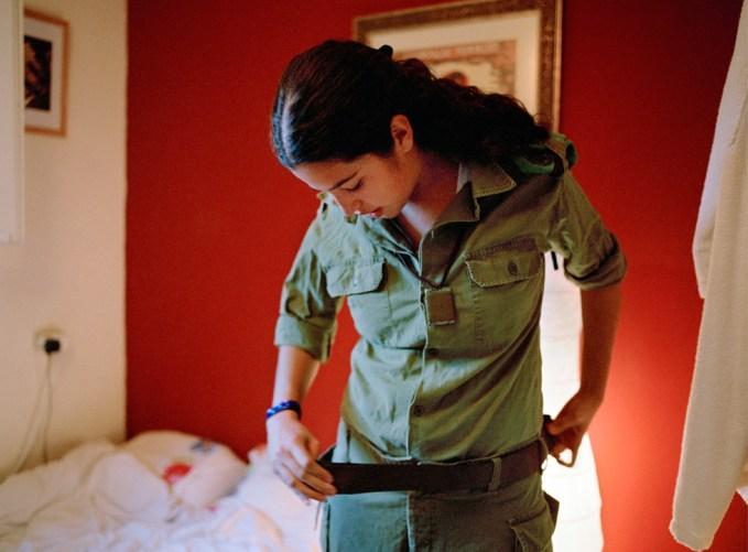 Rachel Papo, Getting ready, Rosh Pina, Israel