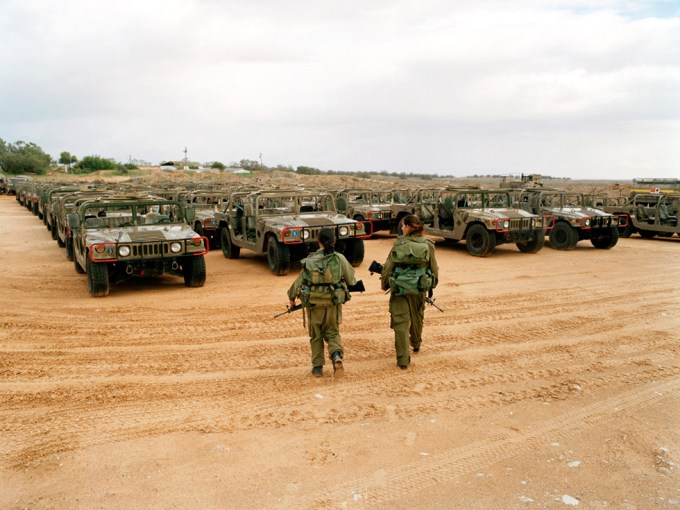 Rachel Papo, Patrolling camp, Tsaelim, Israel