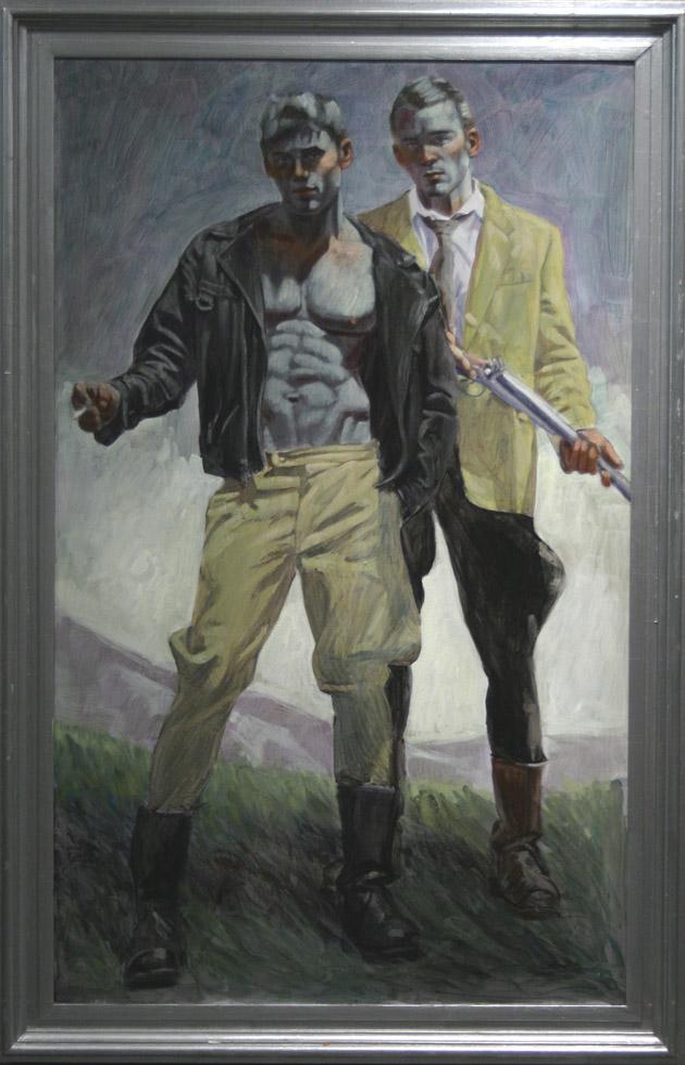 Mark Beard, Bruce Sargeant, Two Men Standing