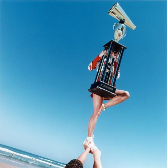 Brian Finke, Untitled (Cheerleading 2)