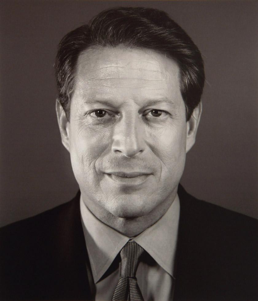 Al Gore ClampArt