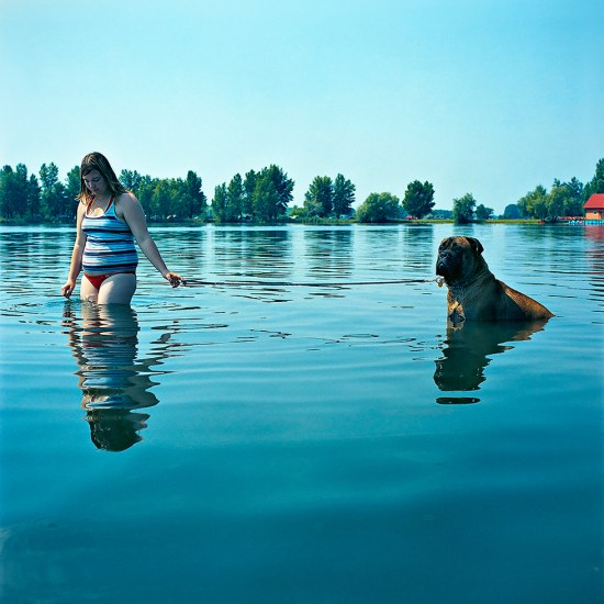 Evzen Sobek, Girl and Dog