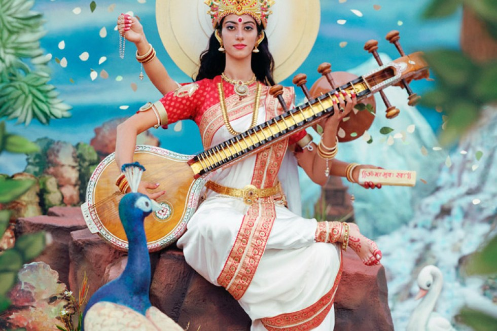 Manjari Sharma, Maa Saraswati, from Darshan, 2013