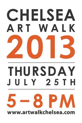 Chelsea Art Walk Logo 2013