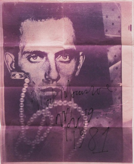 Mark Morrisroe, Untitled (David Wojnarowicz)