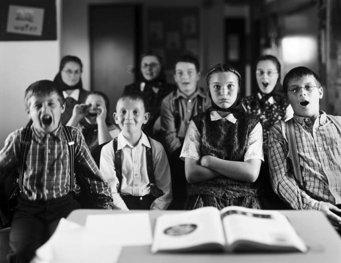 Churchill, Hudderite Classroom