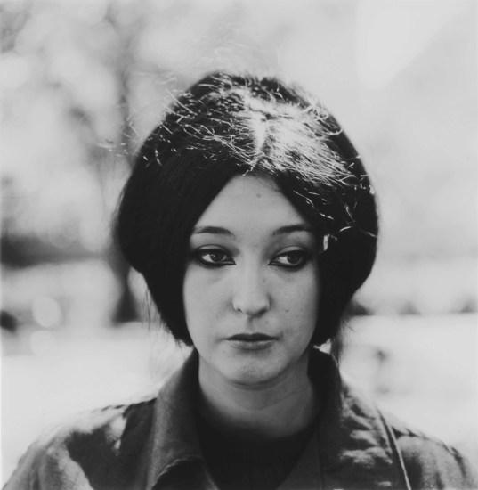 Diane Arbus, Woman with eyeliner, NYC