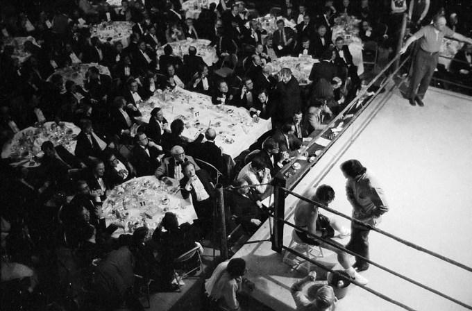 Henry Horenstein, Boxing at the Harvard Club