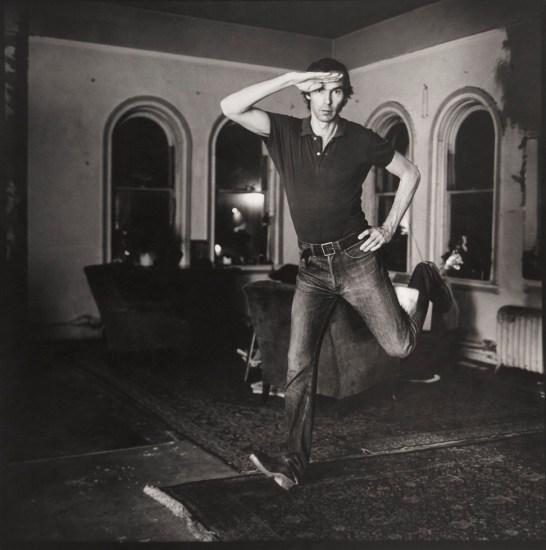 Peter Hujar, Self Portrait Jumping (I)