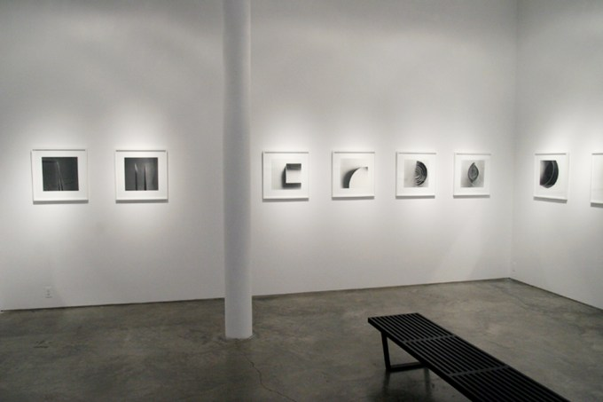 Ion Zupcu, New works on paper, installation image 6