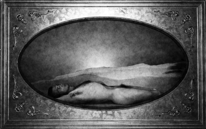 Mel Fillini Laying in Frame #1
