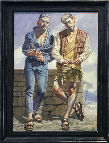 Mark Beard, Bruce Sargeant, Two Young Men in Sandals