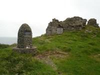 MacArthur cairn at Duntulm, Skye, Scotland