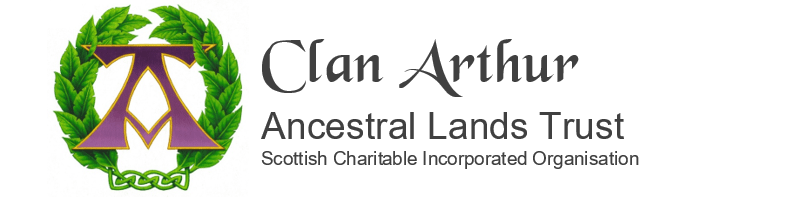 Clan Arthur Ancestral Lands Trust - a Scottish Incorporated Charitable Organisation No. SC051203