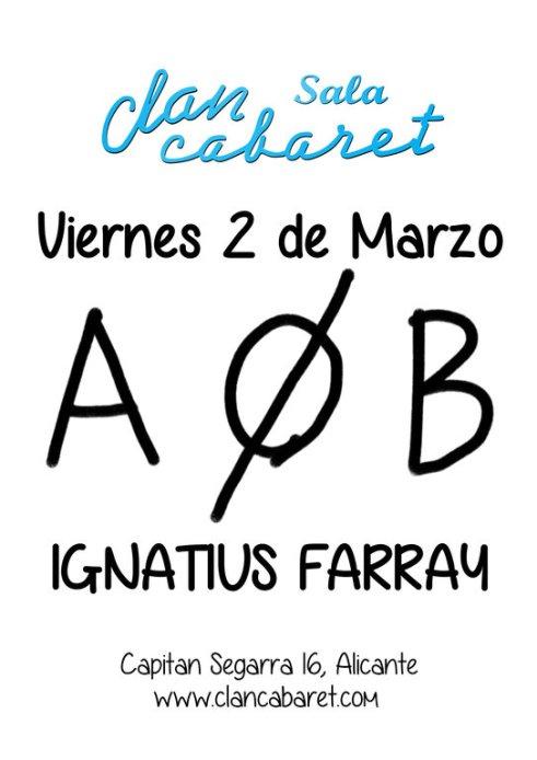 Ignatius farray marazo clan cabaret