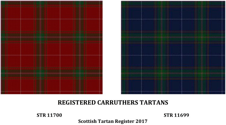 REGISTERED CARRUTHERS TARTANS 2