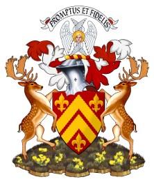 Chiefs Arms mock upfallow deer v3