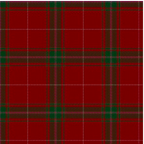Carruthers Red (Official Clan/Family Tartan)