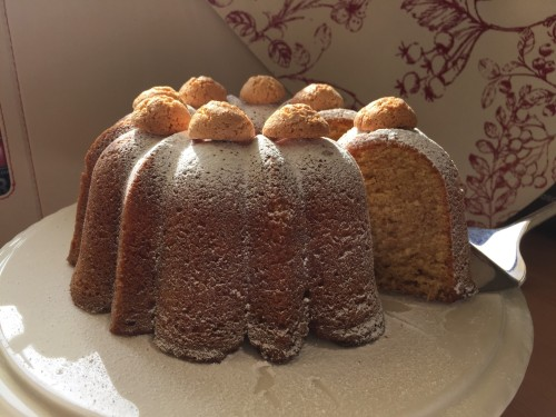 Almond and Amarettini Bundt Cake