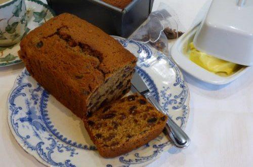 fruit tea loaf